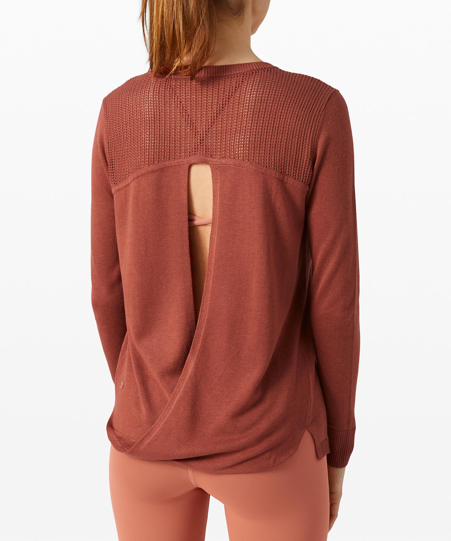 Back to Balance Long Sleeve Sweater
