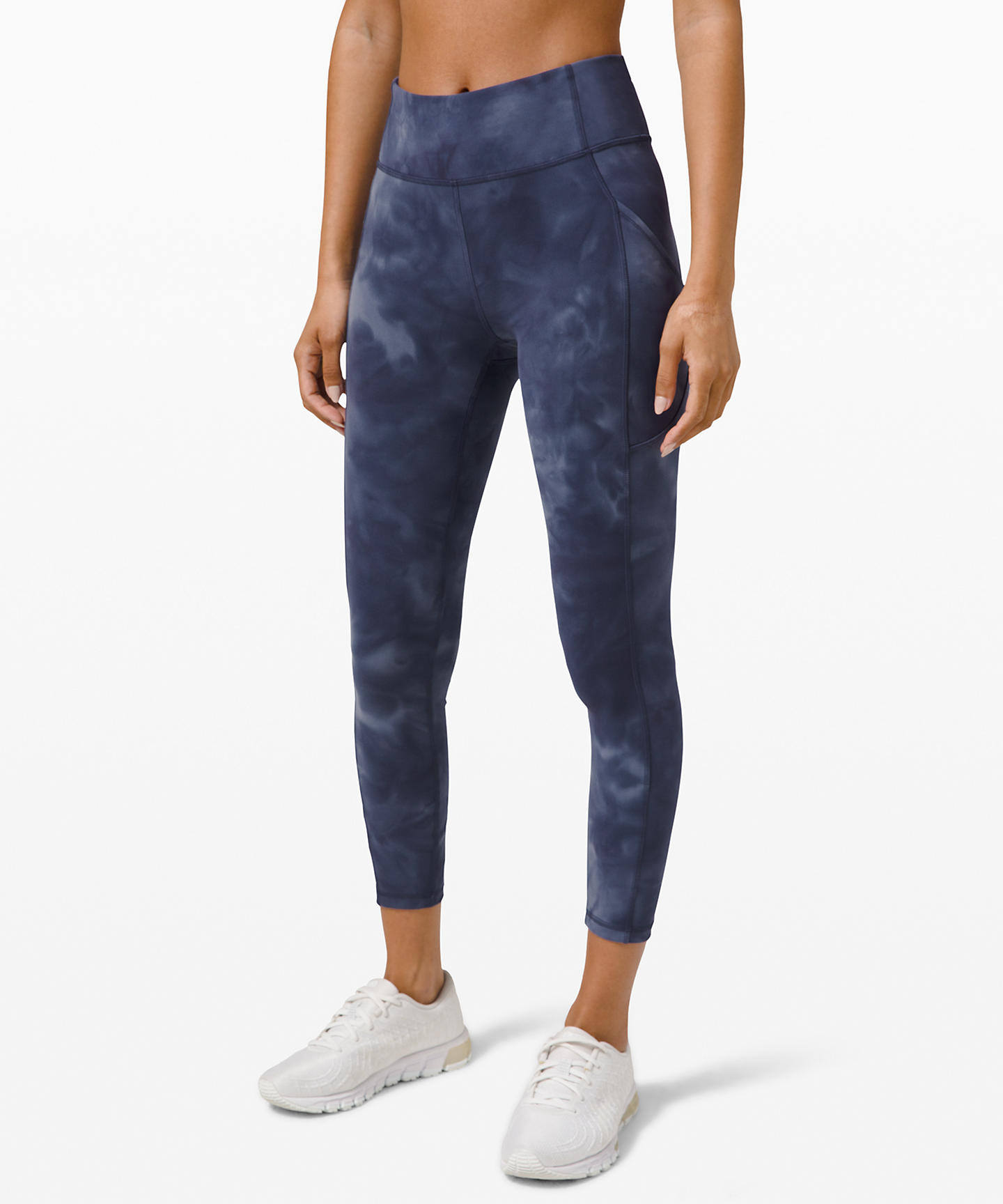 Dispatch From Quarantine: The Lululemon Upload, loungewear trends during shelter-in-place 2020, tie-dye leggings Lululemon,
