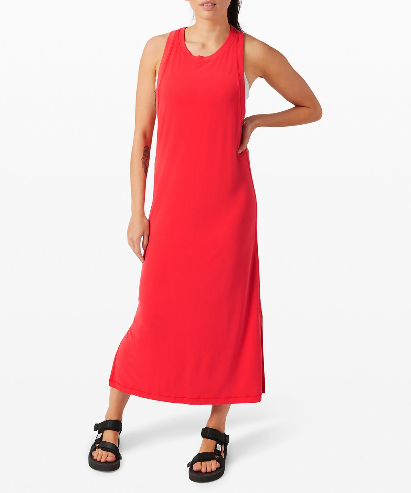 Lululemon_ease of it all dress_lululemon upload_carnation red