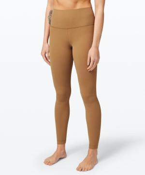 lululemon Align™ Pant 28-saddle brown