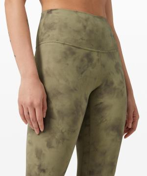Align pant Diamond Dye Vista Green Medium Olive 3