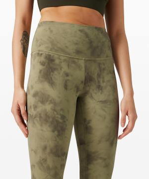 Lululemon Align Pant II Diamond Dye Vista Green Medium Olive 3