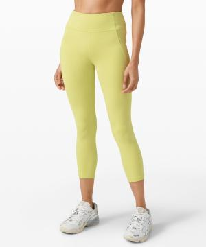 Time To Sweat Crop 23 lemon vibe
