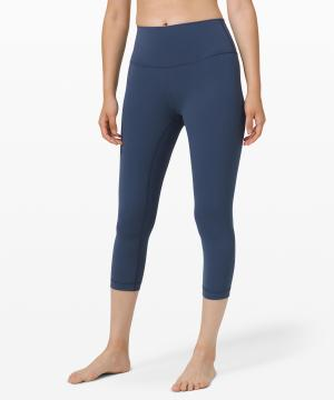 Wunder Under Crop (High-Rise) Full-On Luxtreme 21 Iron Blue