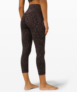 lululemon align crop Wild Thing Camo Brown Earth Multi 3
