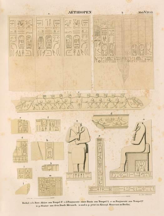 Denkmäler aus Ägypten und Äthiopien (Karl Richard Lepsius) aethiopien