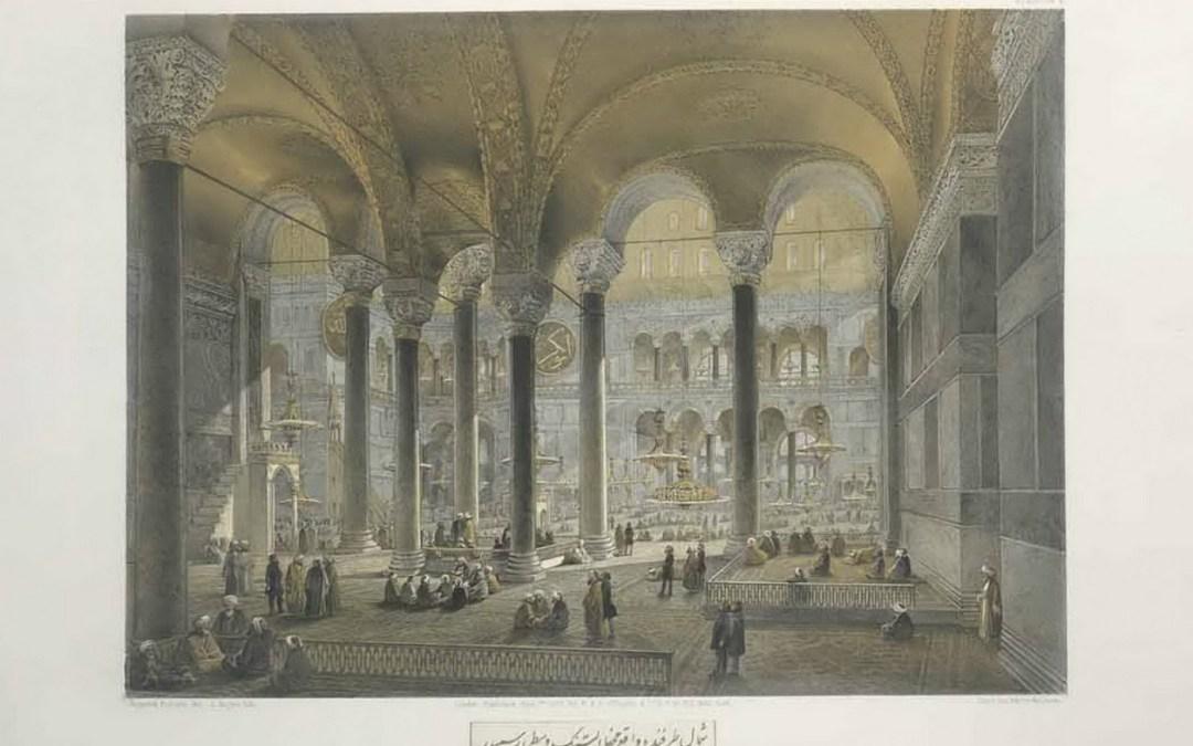 Sainte-Sophie de Constantinople – Gaspare Fossati – Londres [1852]