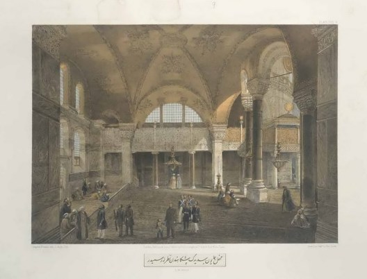 Gaspare Fossati - Aya Sofia of Constantinople - London (1852) - 016