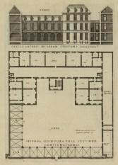 4 - Jacques Ier Androuet du Cerceau - Livre d'architecture… contenant les plans & dessaings de cinquante bastimens tous differens