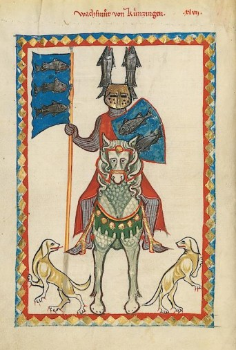 Codex Manesse - page 160v