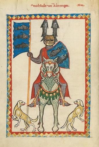Codex Manesse - page 160v