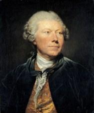 Jean-Baptiste Greuze - portrait du graveur Wille
