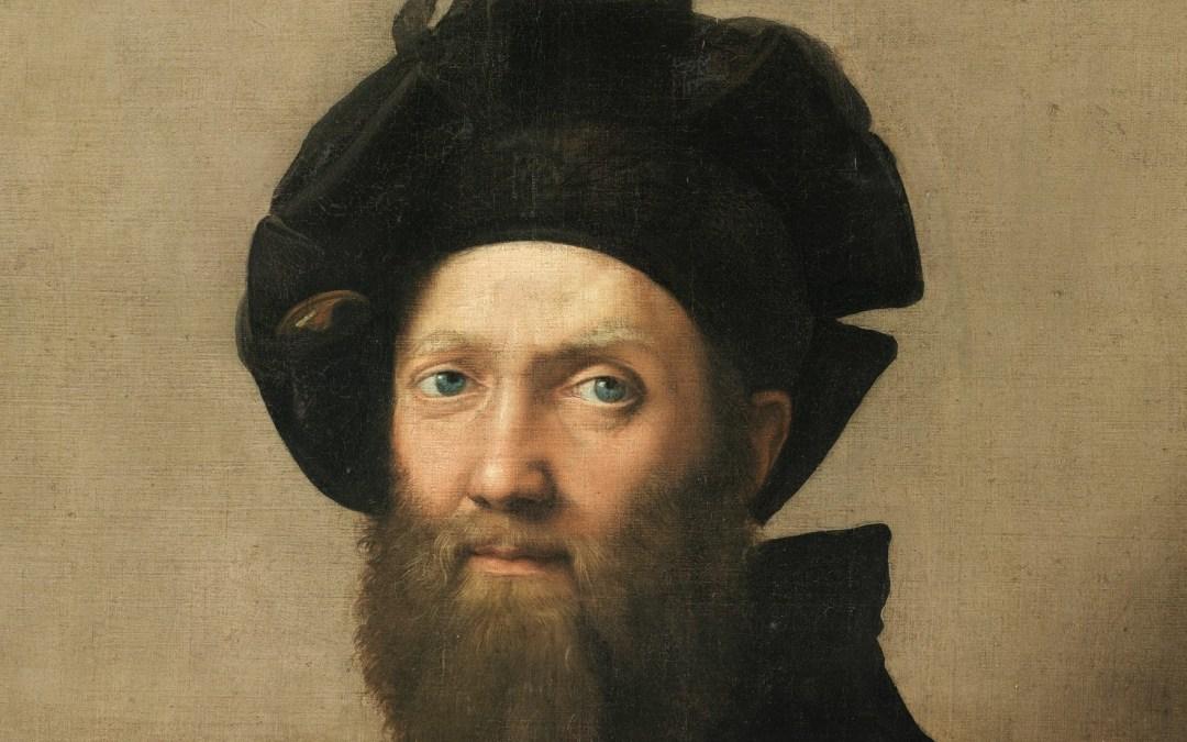 Portrait de Baldassare Castiglione par Raphaël