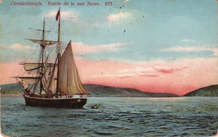 Vieilles cartes postales - Istanbul - 01 - Détroit de la Mer Noire