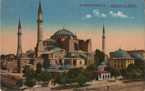 Vieilles cartes postales - Istanbul - 06 - Sainte-Sophie