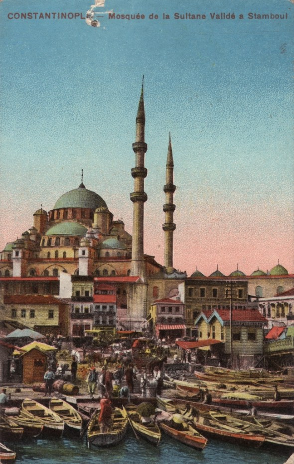 Vieilles cartes postales - Istanbul - 07 - Mosquée nouvelle (Yeni Camii)