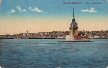 Vieilles cartes postales - Istanbul - 09 - La tour de Léandre