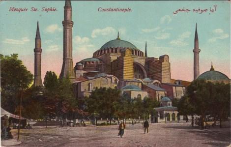 Vieilles cartes postales - Istanbul - 15 - Sainte-Sophie