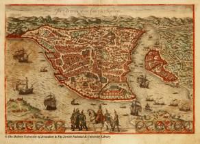 03 - Braun and Hogenberg - Byzantium, nunc Constantinopolis - Civitates Orbis Terrarum - 1572