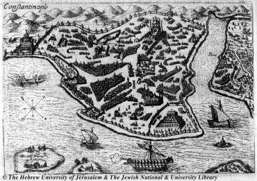 06 - Henry de Beauvau - Constantinople - Relation iournaliere du voyage du Levant - 1615