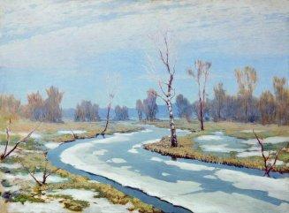 Arkhip Ivanovich Kuindzhi - Au début du printemps - 1890-1895