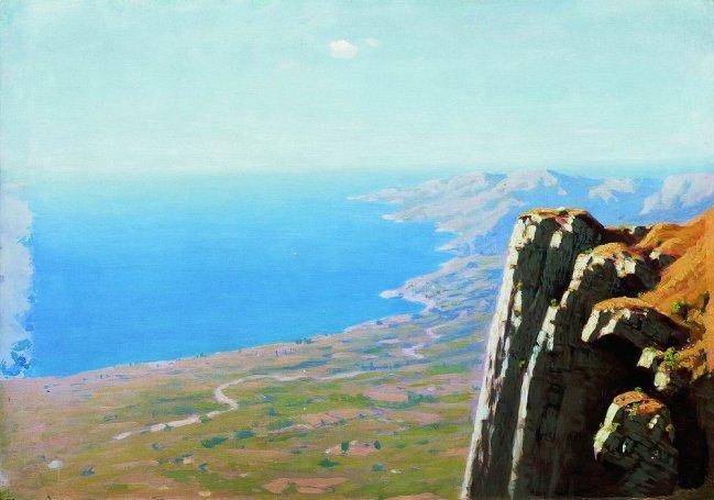 Arkhip Ivanovich Kuindzhi - Côte avec rochers - 1908