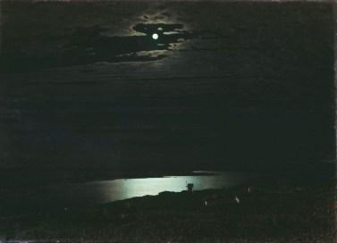 Arkhip Ivanovich Kuindzhi - Clair de lune sur le Dniepr - 1882