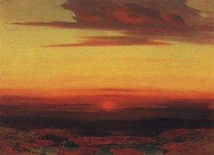 Arkhip Ivanovich Kuindzhi - Coucher de soleil - 1890-1895