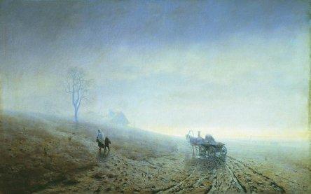 Arkhip Ivanovich Kuindzhi - La boue de l'automne - 1872