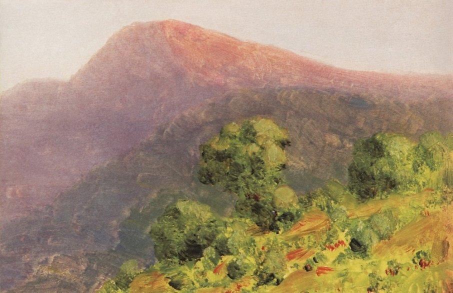 Arkhip Ivanovich Kuindzhi - Montagne - 1885-1890