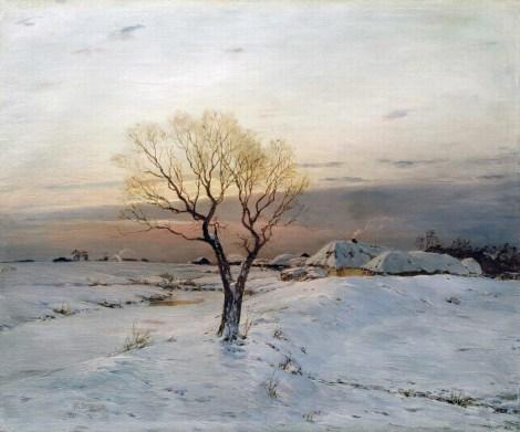 Nikolai Nikanorovich Dubovskoy - Matin glacial - 1894