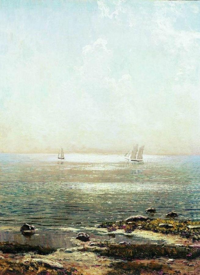 Nikolai Nikanorovich Dubovskoy - Paysage marin - 1916