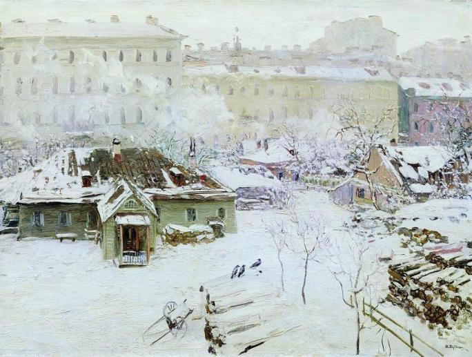 Nikolai Nikanorovich Dubovskoy - Première neige - 1910