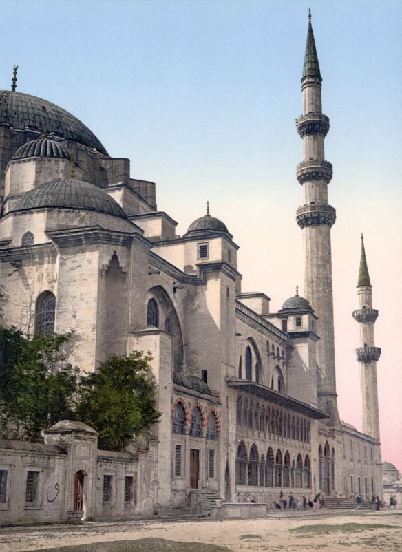 Süleymaniye Camii, Istanbul - 1890