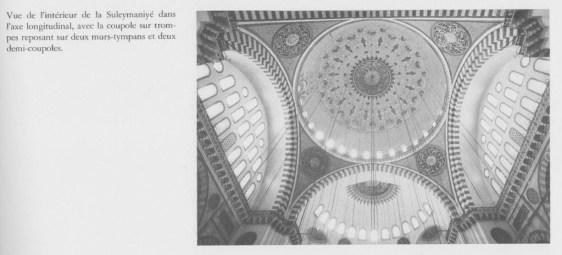 Süleymaniye - intérieur