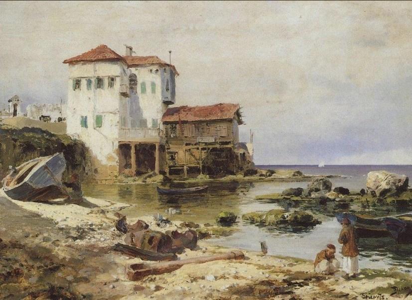 Vasili Dimitrievich Polenov (1844 - 1927) - Beyrouth - 1882