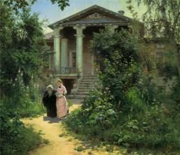 Vasili Dimitrievich Polenov (1844 - 1927) - Le jardin de grand-mère - 1878