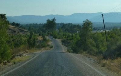 Dans la vapeur blanche des jours sans vent (Carnet de voyage en Turquie – 6 août) : La route d'Arycanda et lesmantı