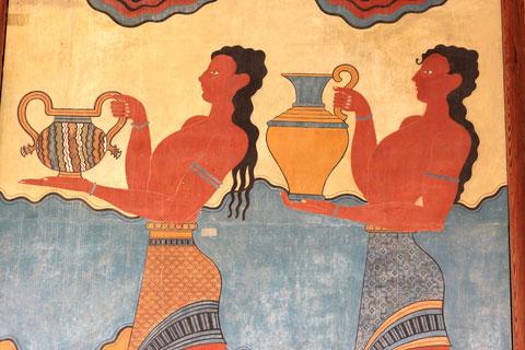 Fresques de Knossos - 06