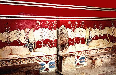 Fresques de Knossos - 08