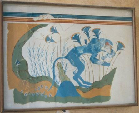 Fresques de Knossos - 09