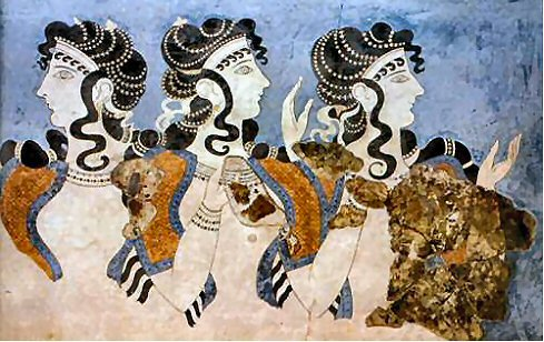 Fresques de Knossos - 10