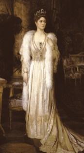 La tsarine Alexandra Fyodorovna