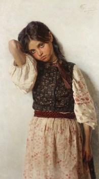 Petite fille russe