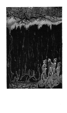 Beowulf (6) - illustration par Severin - 1954