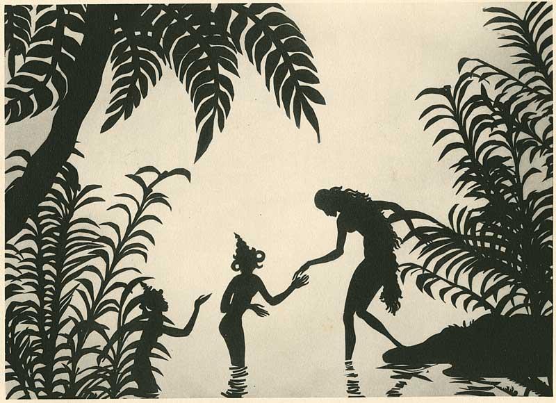 Die Abenteuer des Prinzen Achmed de Lotte Reiniger (1926) - Les aevntures du Prince Ahmed