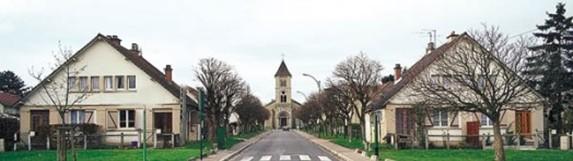 Cité-jardin d'Orgemont à Argenteuil (Val d'Oise)