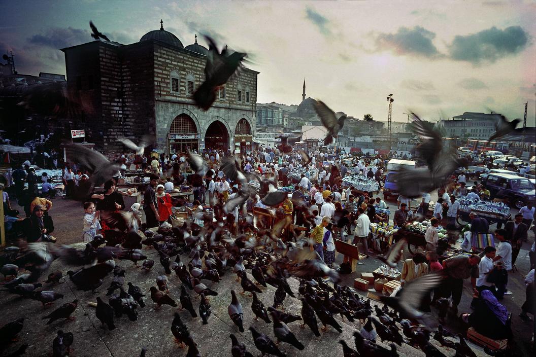 Esplanade de la Yeni Camii - Eminönü - Istanbul - 1972