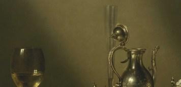 Willem Claeszoon Heda - Festin de jambon (détail flute et aiguière) - 1656 - 152x111cm - The Museum of Fine Arts - Houston