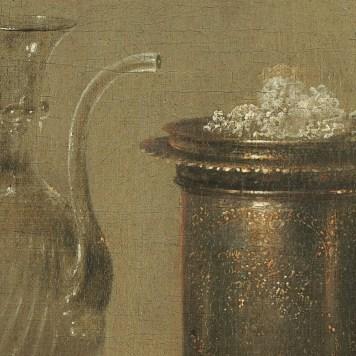 Willem Claeszoon Heda - Nature morte à la tartelette (Détail sucre) - 1635 - 106x111cm - National Gallery of Art - Washington